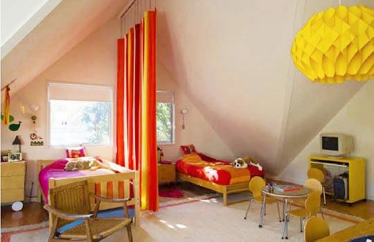 Dormitorios infantiles compartidosdecoraddiction for Lenceria de dormitorio 3