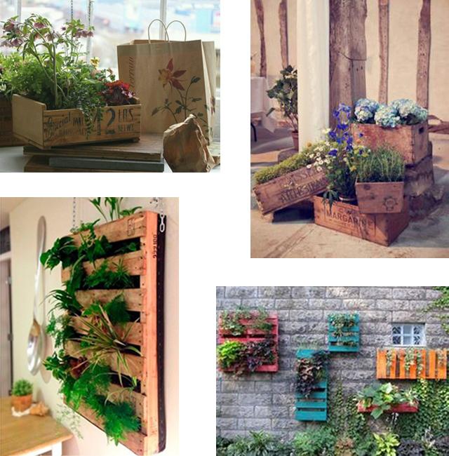Originales maceteros recicladosdecoraddiction - Macetas originales para plantas ...