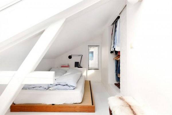 loft nordico dormitorio vestidor