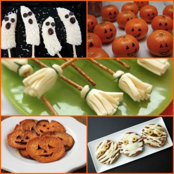 Halloween deco tips mesa comedor 03 for Ideas comidas faciles