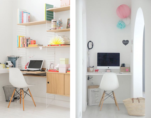 Home office Eames chair_white