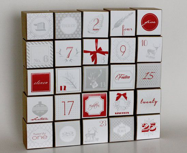 calendarios de adviento diy decoraddiction