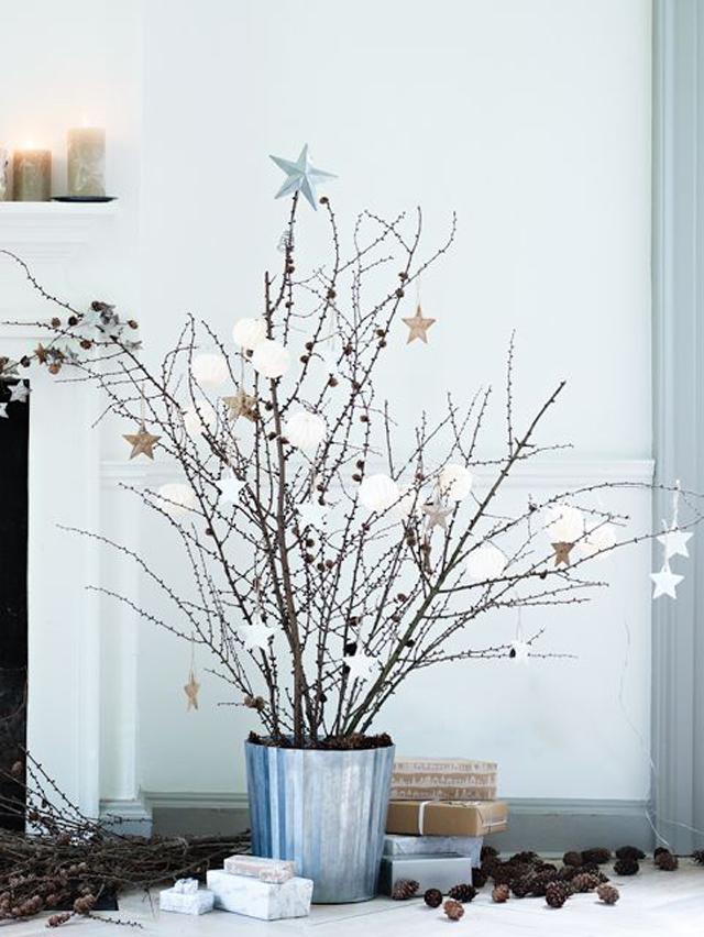 Una Navidad decorada con estrellas_01