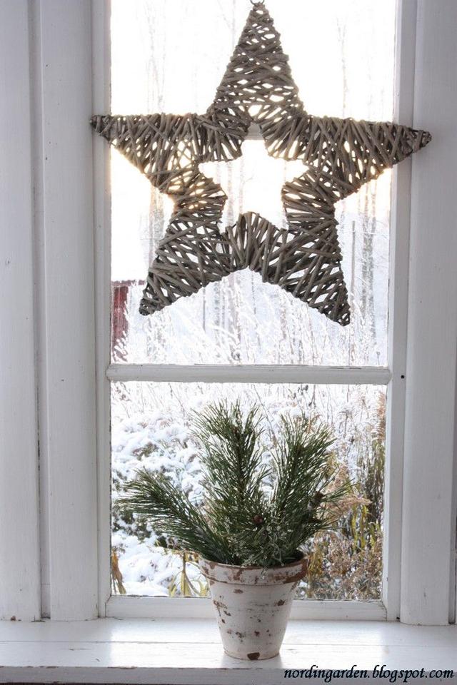 Una Navidad decorada con estrellas_03