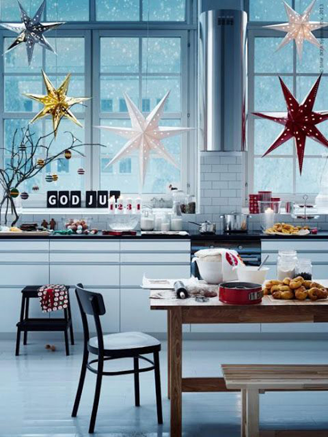 Una Navidad decorada con estrellas_06