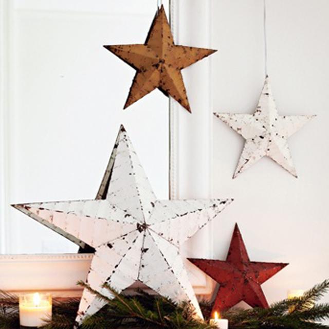 Una Navidad decorada con estrellas_07