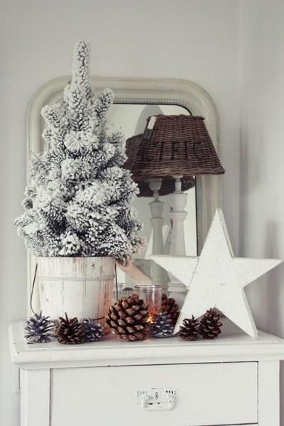 Una Navidad decorada con estrellas_09