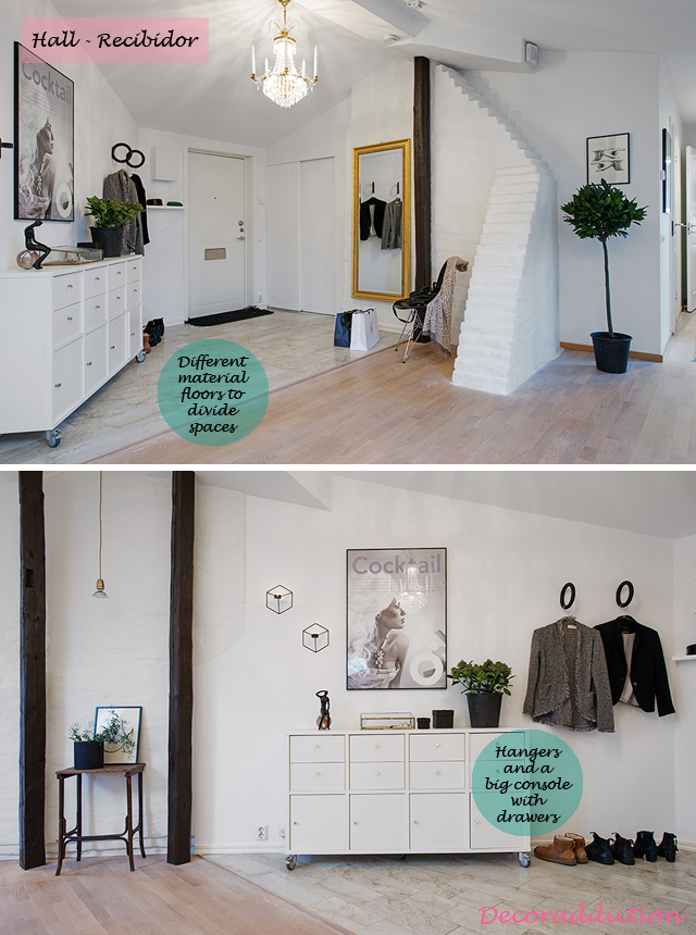 A nordic apartment with a lot of character_hall