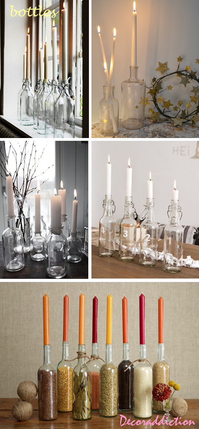 Candle contairnes ideas_bottles