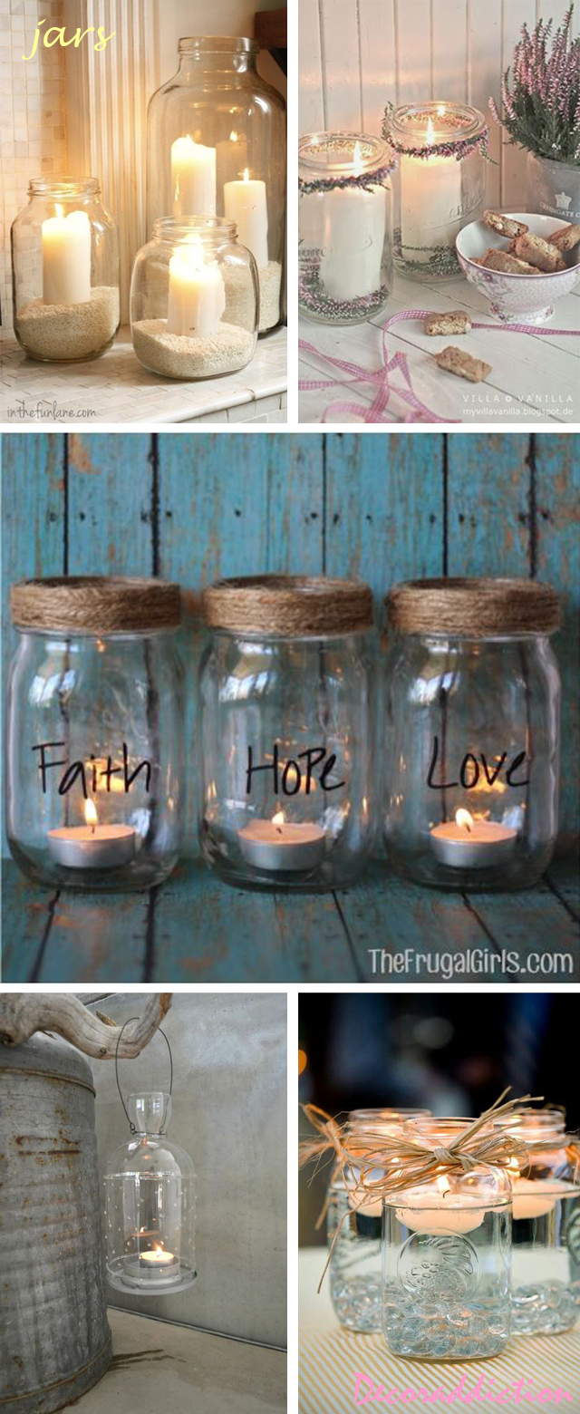 Candle contairnes ideas_jars