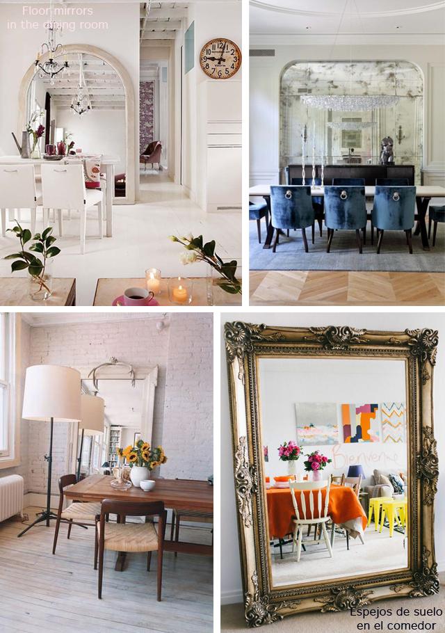 Floor mirrors_comedor