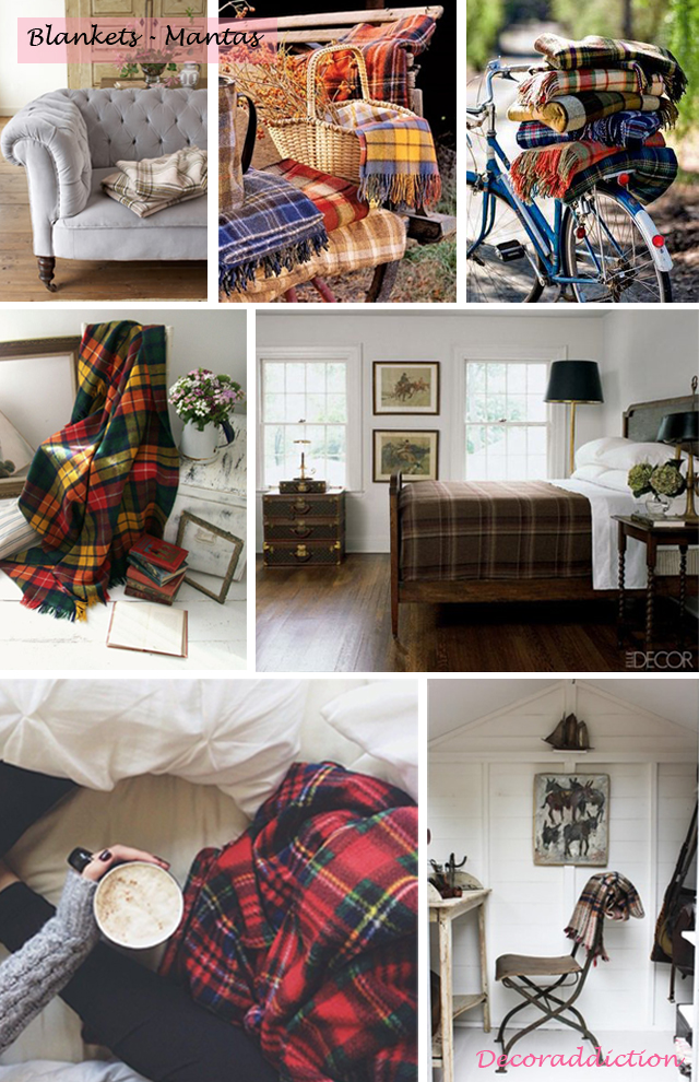 Tartan everywhere_blankets