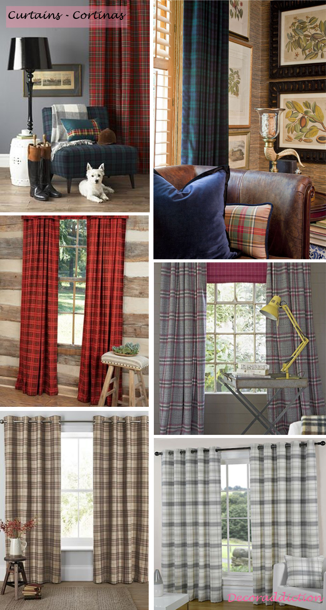 Tartan everywhere_curtains