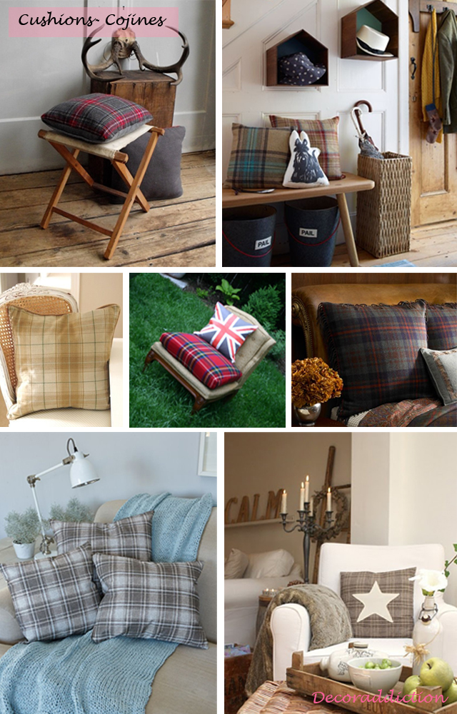 Tartan everywhere_cushions