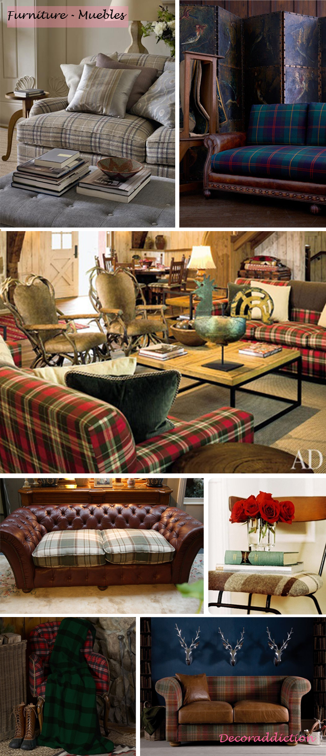 Tartan everywhere_furniture