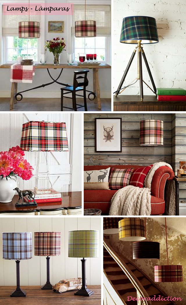 Tartan everywhere_lamps