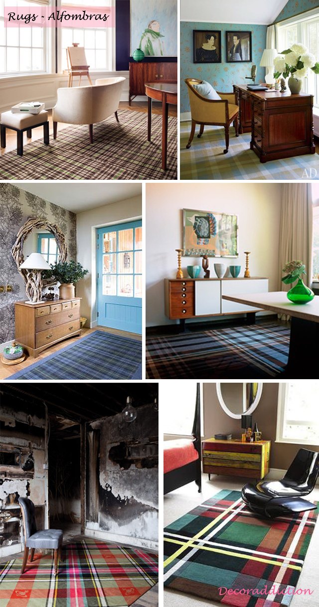 Tartan everywhere_rugs
