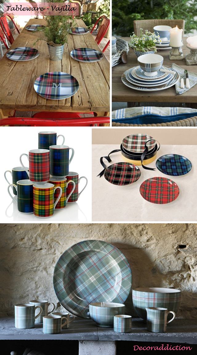 Tartan everywhere_tableware