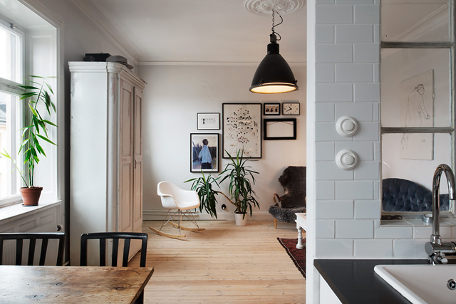 Ático nórdico con toques rústicos - Nordic attic with rustic touches_06