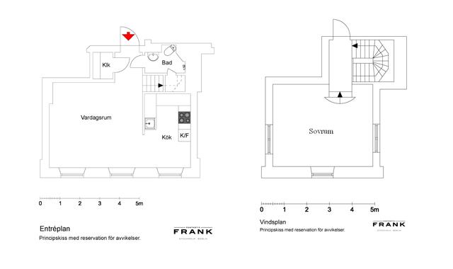 Ático nórdico con toques rústicos - Nordic attic with rustic touches_plano
