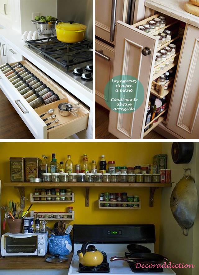 Ideas de almacenaje para la cocina kitchen storage ideasdecoraddiction - Ideas para cocina ...