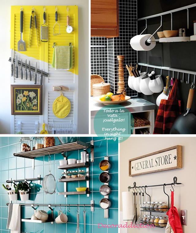81_Orden*Ideas de almacenaje para la cocina - Organisation*Kitchen storage ideas_todo a la vista, cuélgalo