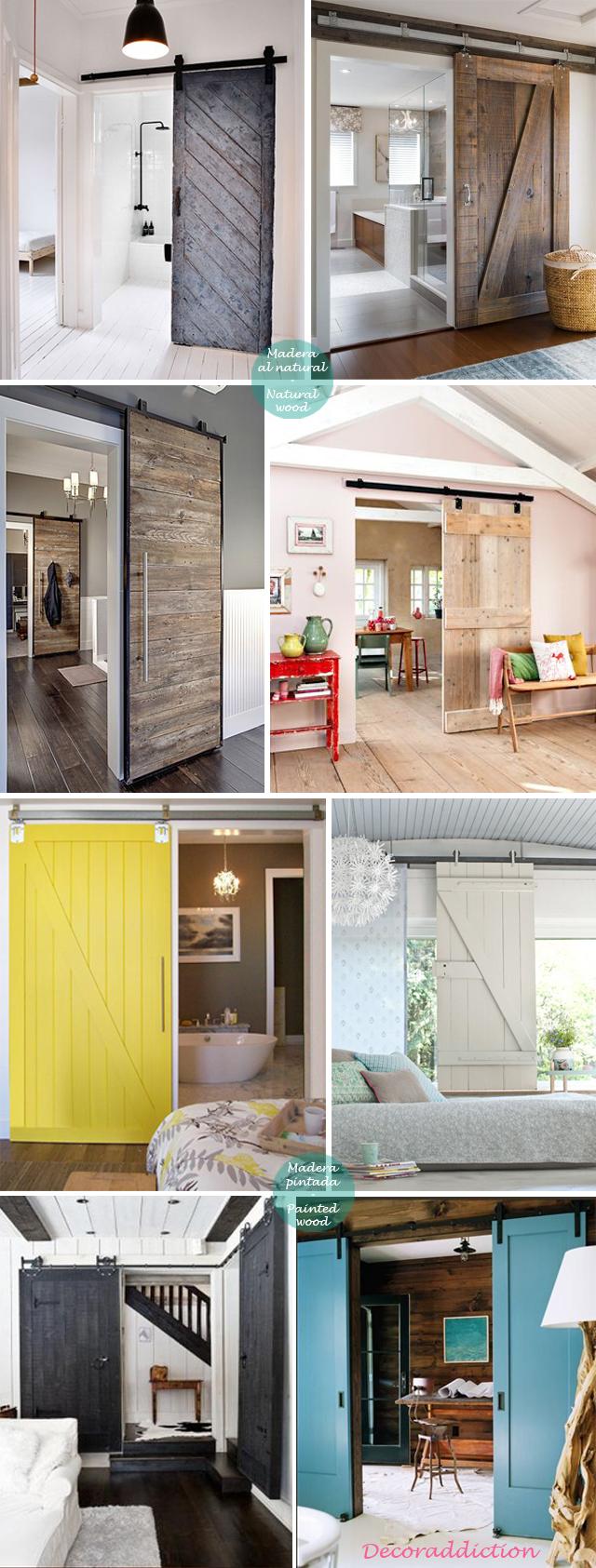 Apuesta por puertas correderas - Bet on sliding doors_madera