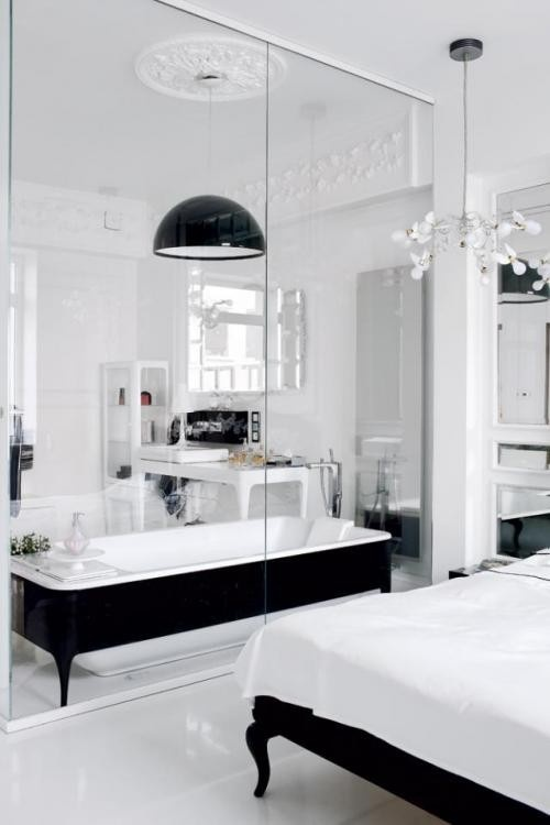Baño Para Dormitorio:Bedroom with Bathroom Integrated