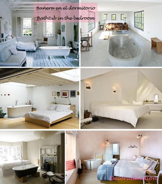 Baños integrados en el dormitorio - Bathrooms integrated in the bedroom_bañera en el dormitorio