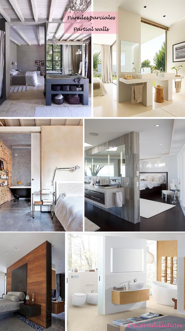Baños integrados en el dormitorio//Bathrooms integrated in ...
