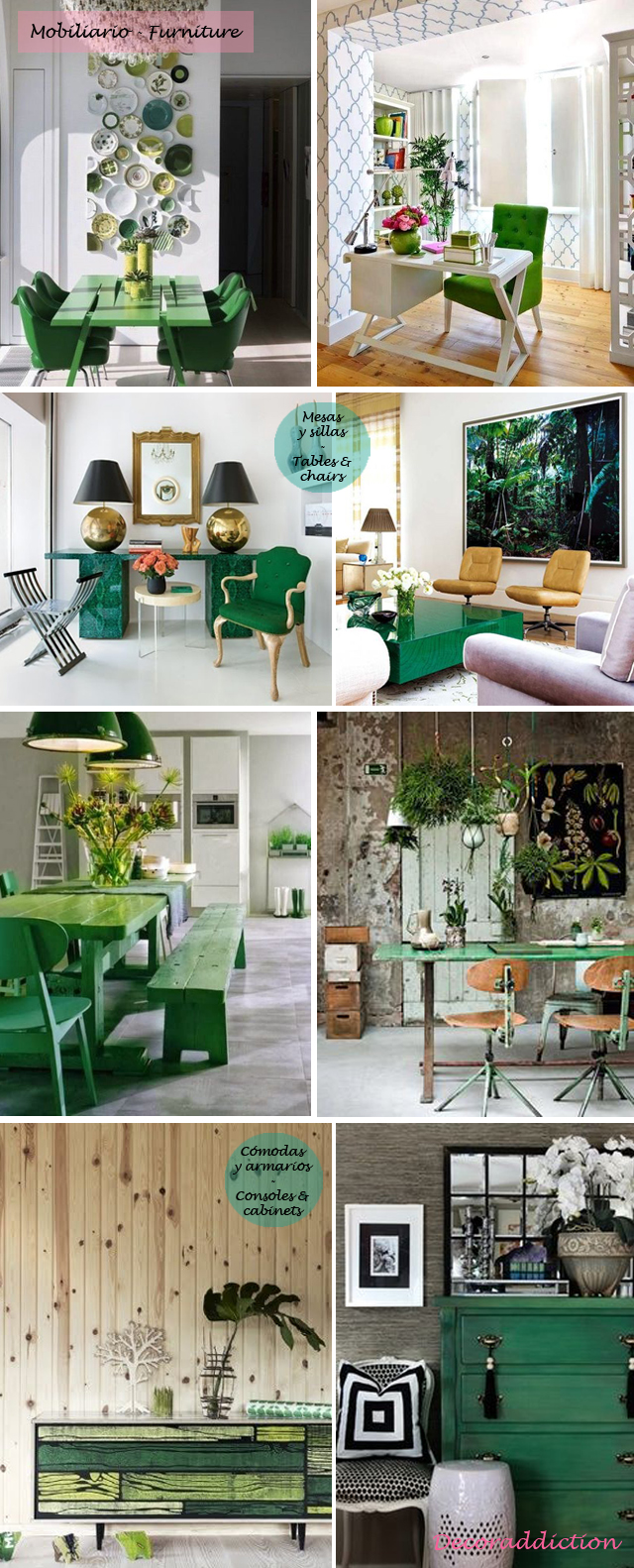 Deja que el verde entre en tu casa - Let the green into your home_mobiliario