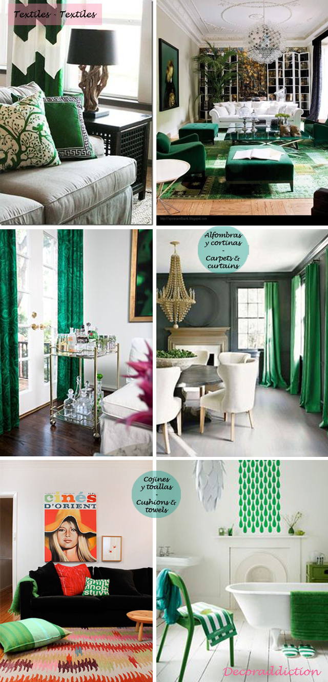 Deja que el verde entre en tu casa - Let the green into your home_textiles