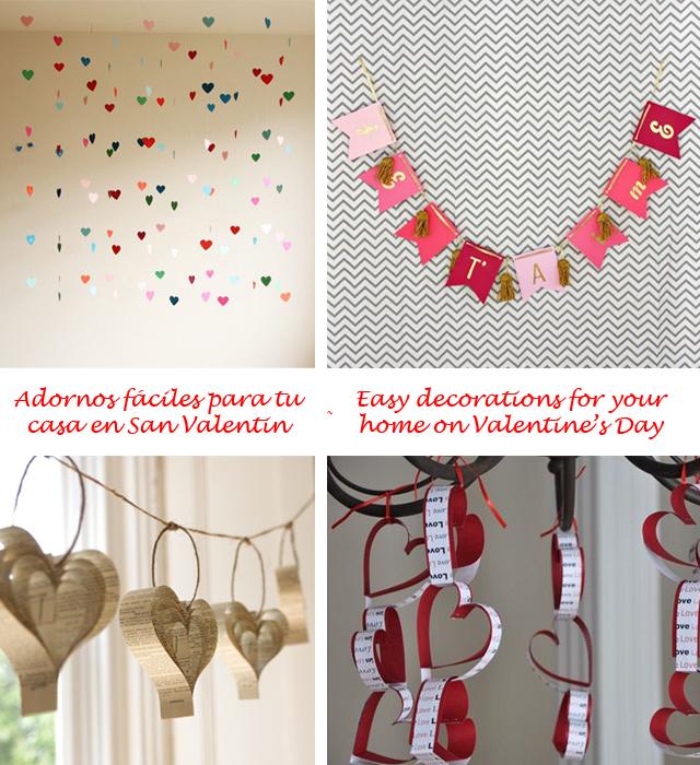 Ideas de San Valentín de última hora - Valentine's Day last minute ideas_adornos