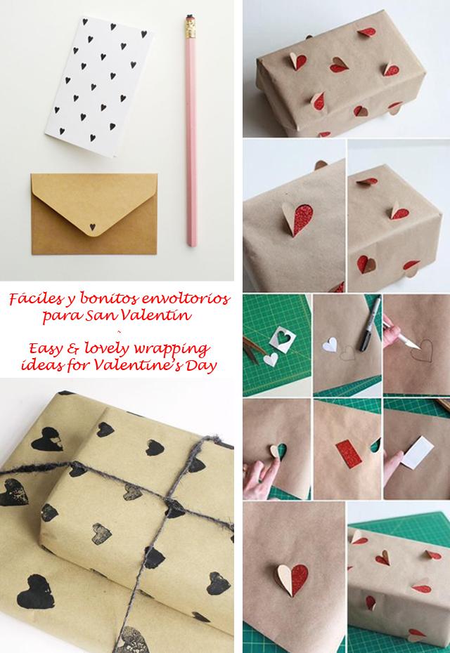 Ideas de San Valentín de última hora - Valentine's Day last minute ideas_envoltorios