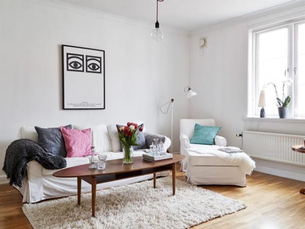 Apartamento nórdico muy femenino - Nordic and very feminine apartment_08