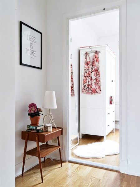 Apartamento nórdico muy femenino - Nordic and very feminine apartment_12