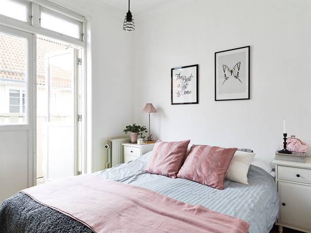 Apartamento nórdico muy femenino - Nordic and very feminine apartment_13