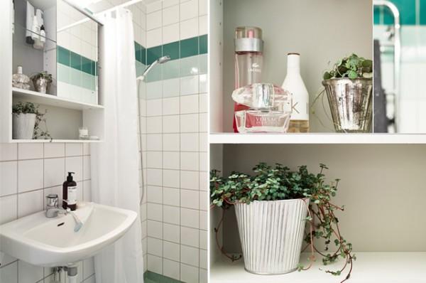 Apartamento nórdico muy femenino - Nordic and very feminine apartment_baño