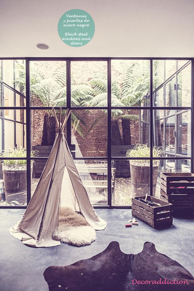 Loft familiar en Amsterdam - Family loft in Amsterdam_ventanas y puertas
