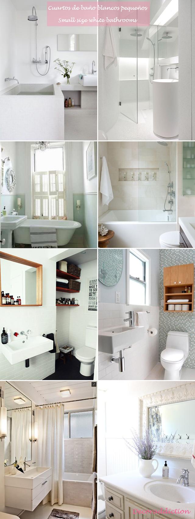 Me encantan los cuartos de baño blancos - I love white bathrooms_pequeños