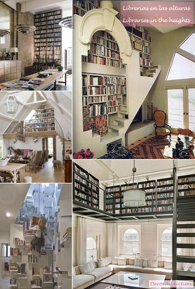 Librerías en casa - Libraries at home_alturas
