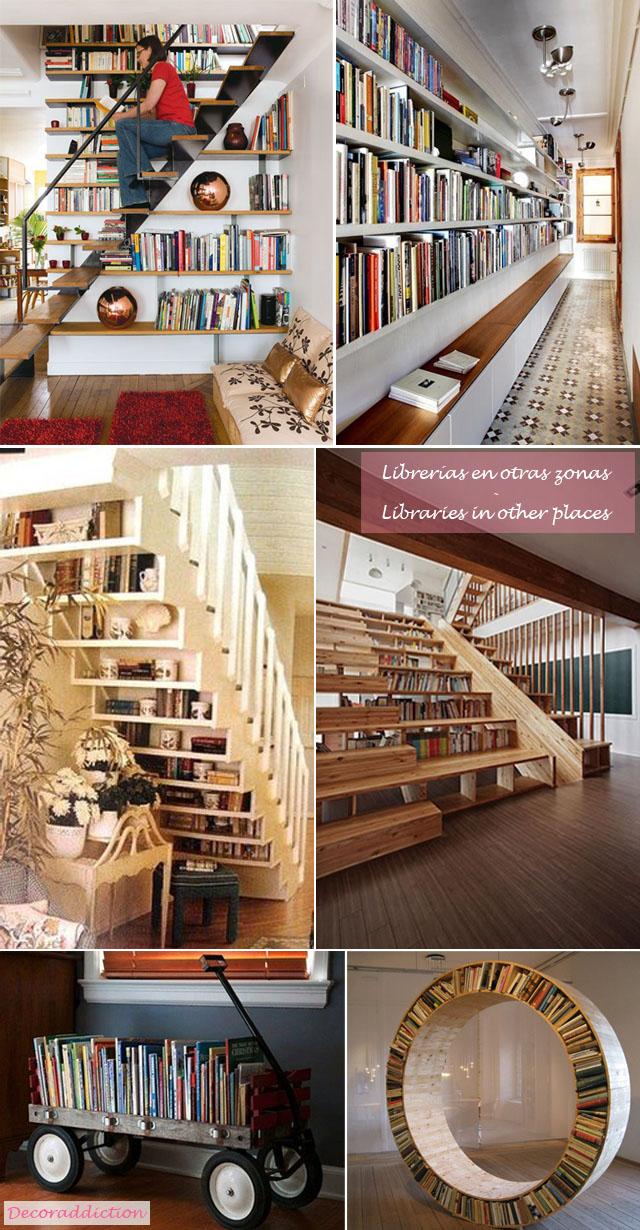 Librerías en casa - Libraries at home_otros