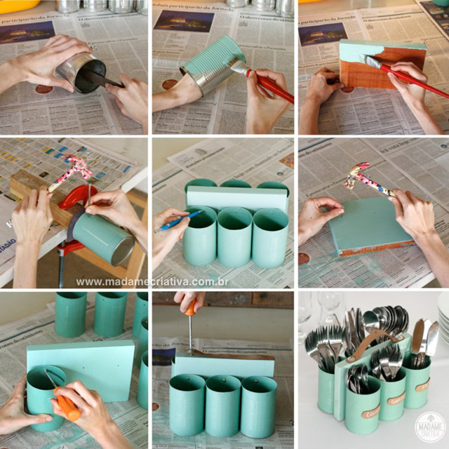 *My new home* DIY con latas recicladas - Recycled cans DIY_01