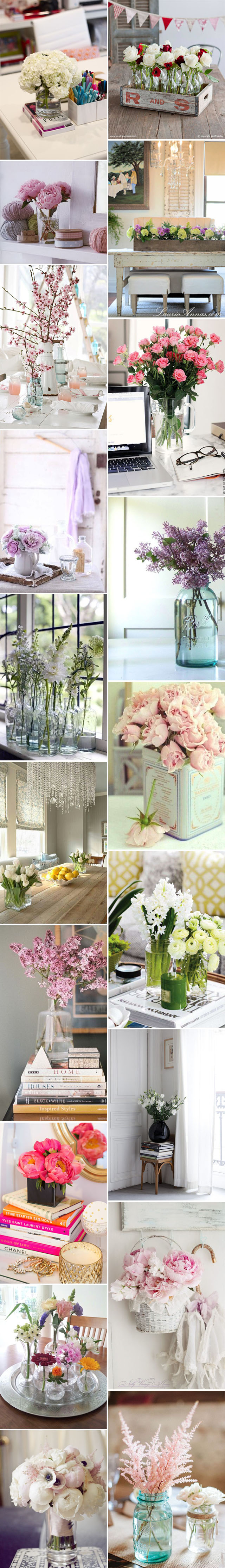 *My new home* Decorar con flores frescas - Decorate with fresh flowers_montaje
