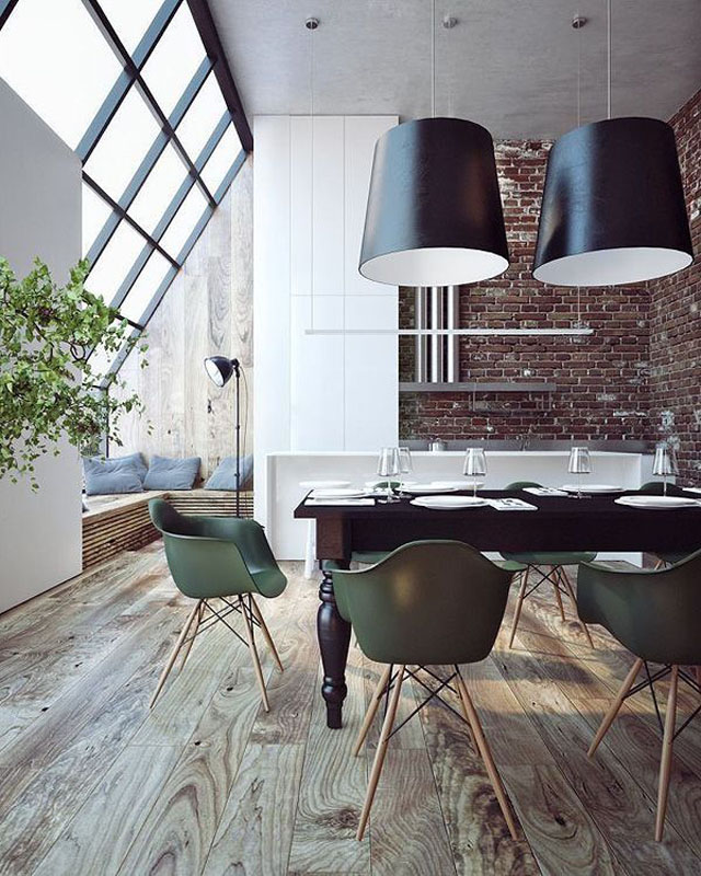 copy the look comedor de estilo industrial industrial