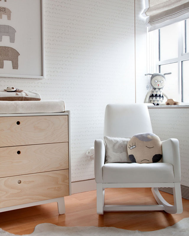 Dormitorio de bebé en colores neutros - Neutral colors baby's room_04