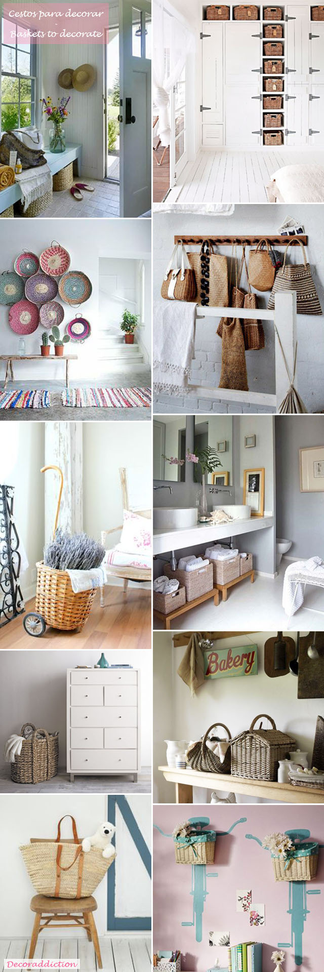 *My new home* Decorar con cestos - Decorate with baskets_espacios