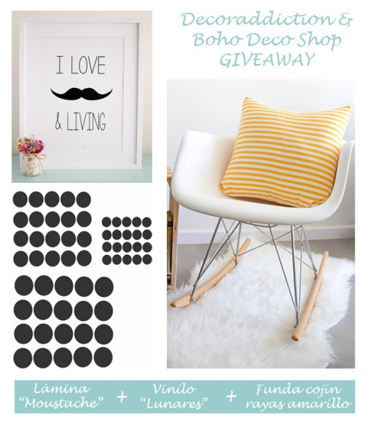 *DECORADDICTION* Sorteo de primer aniversario - First anniversary giveaway_montaje