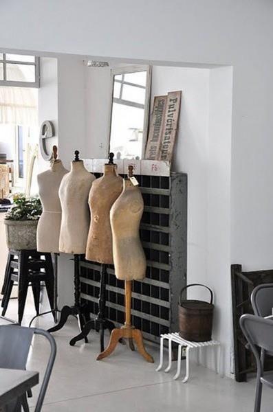 Decorar con maniquíes vintage :: Decorate with vintage mannequins_02