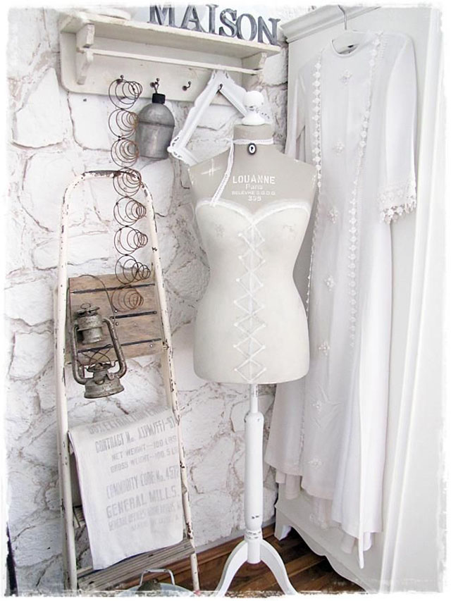 Decorar con maniquíes vintage :: Decorate with vintage mannequins_04